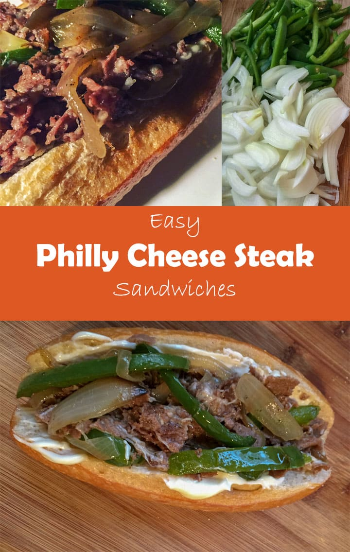 Easy Philly Cheese Steak Sandwich Recipe - Monday Is Meatloaf