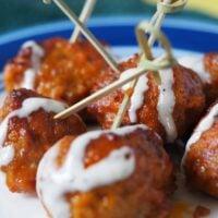 Instant Pot No-Fail Buffalo Chicken Meatballs