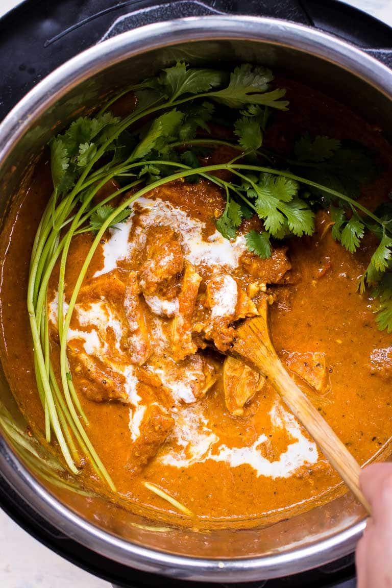 Paleo Instant Pot Butter Chicken