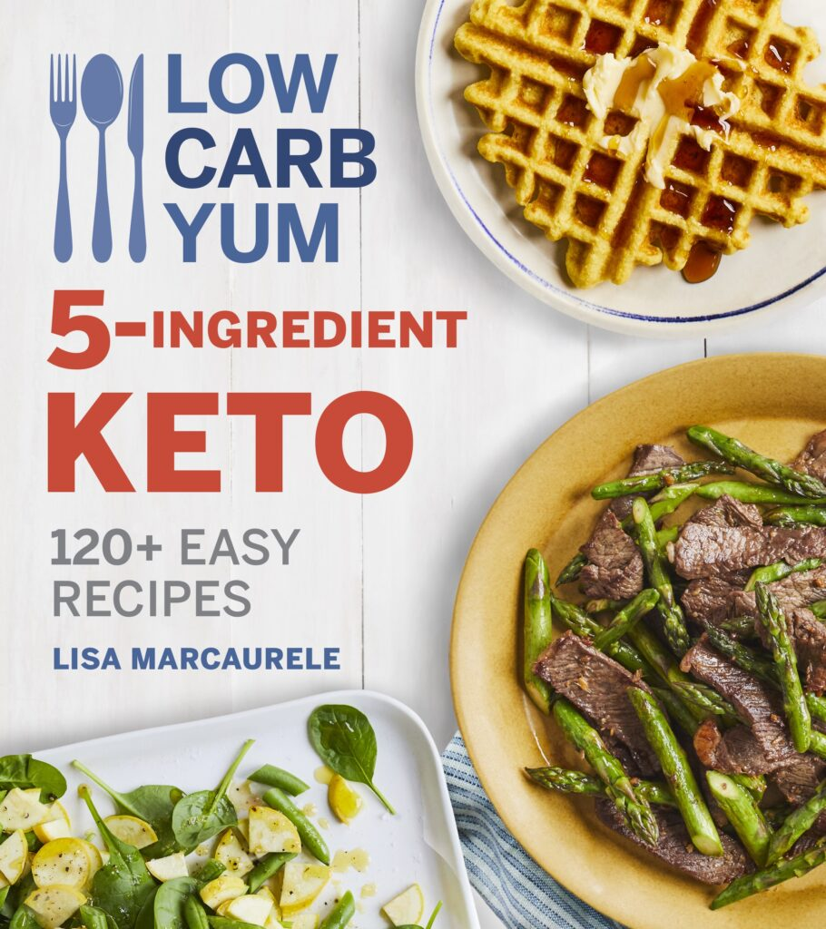 Low carb yum book cover