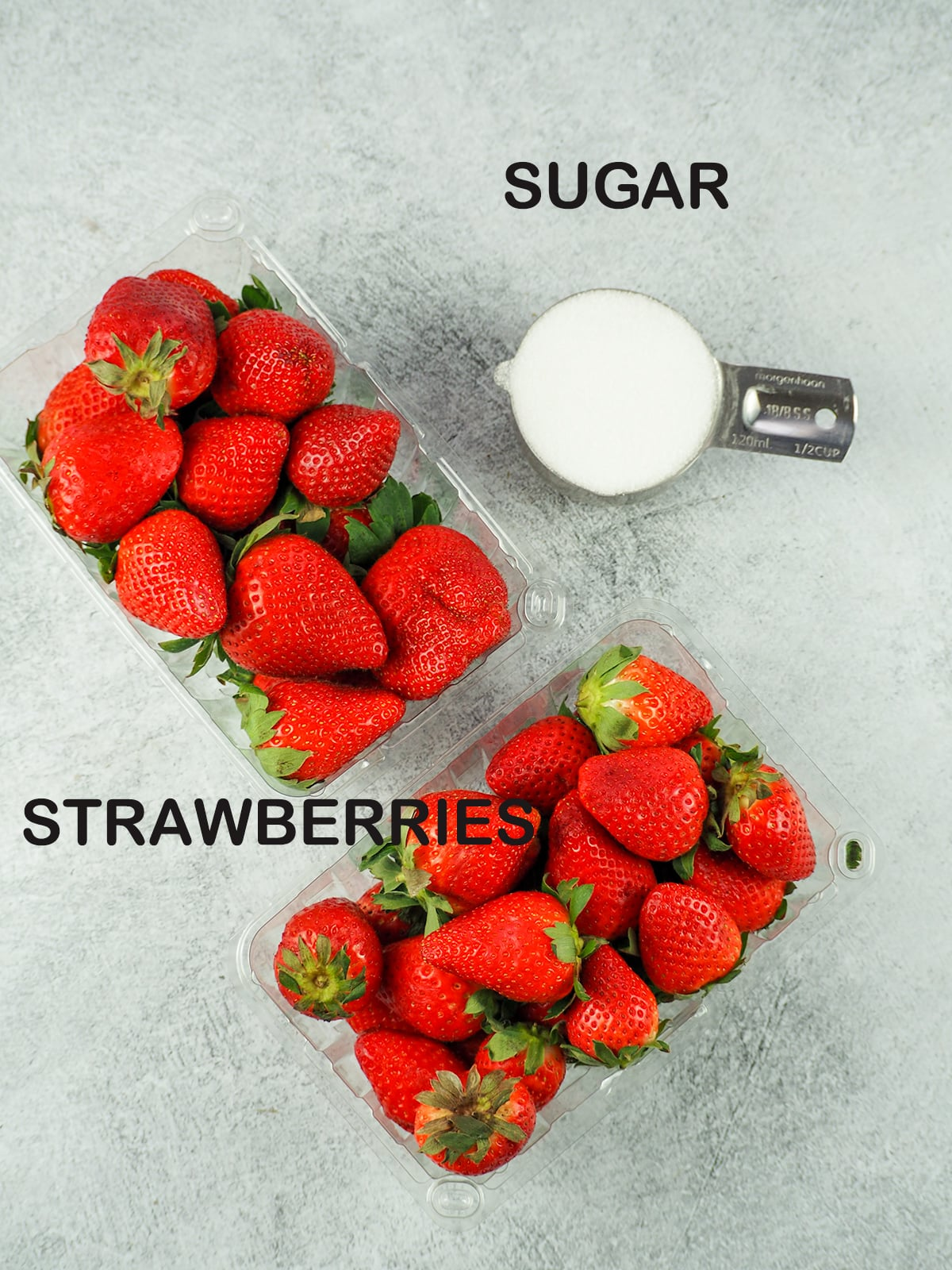 strawberry topping ingredients
